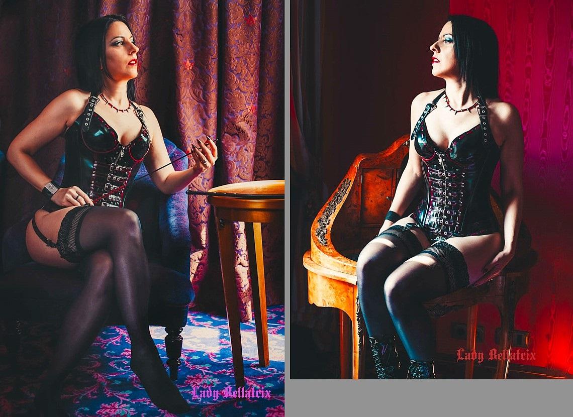 Lady Bellatrix' nieuwe site