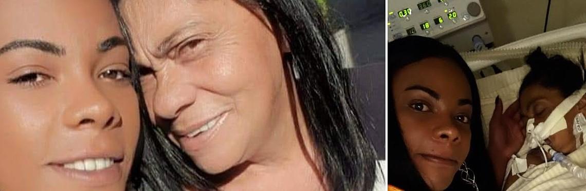 Meesteres Bruna Venchy en haar moeder: coronatreurnis