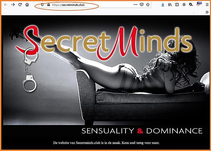 Femdom Nieuwsdienst: nieuw domein Secret Minds